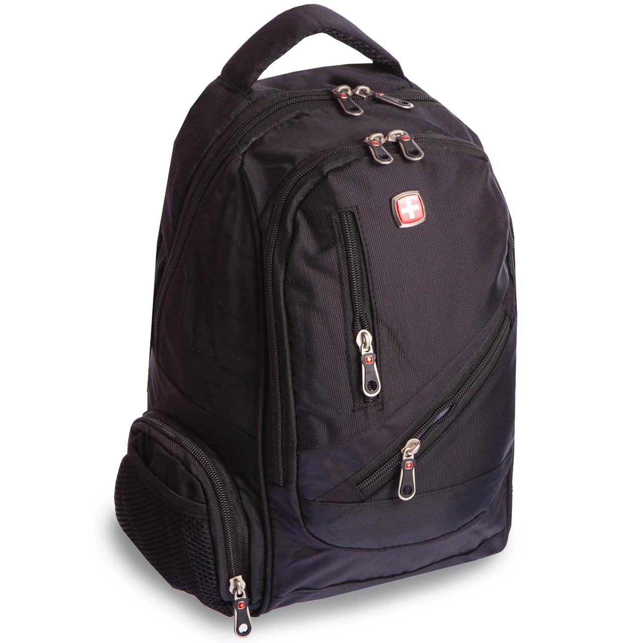 Рюкзак городской planeta-sport VICTOR 20л A815 16x30x39см USB Черный