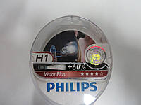 Лампа Н1 Vision Plus SP 12V 55W PHILIPS (комплект) ,  12258VPS2