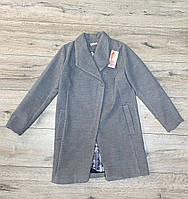 Кашемировое пальто. 140- 146 рост.