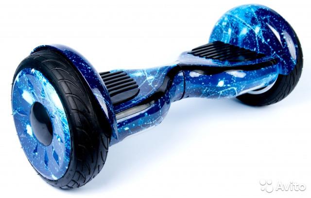 Гироборд Синий Космос  Гироскутер Сигвей Гіроскутер гіроборд сігвеї 10.5 Самобалансом Тао Тао