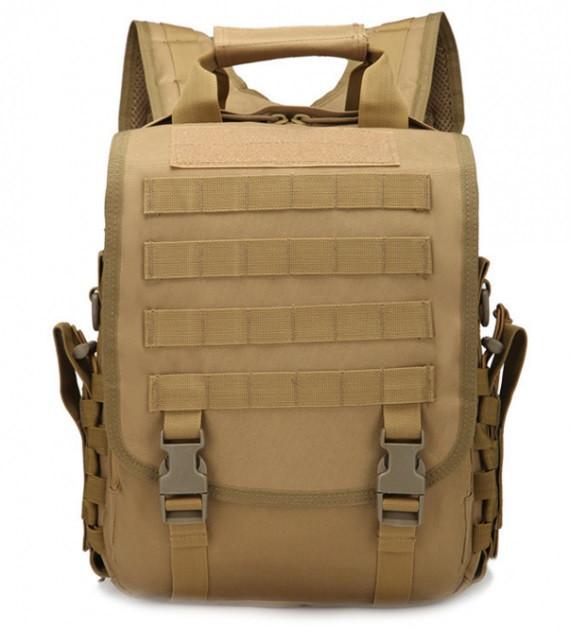 Сумка-рюкзак тактическая TacticBag A28 30 л, песочная