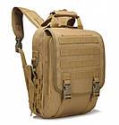 Сумка-рюкзак тактическая TacticBag A28 30 л, песочная, фото 5