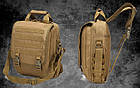 Сумка-рюкзак тактическая TacticBag A28 30 л, песочная, фото 6
