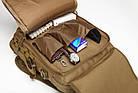 Сумка-рюкзак тактическая TacticBag A28 30 л, песочная, фото 7