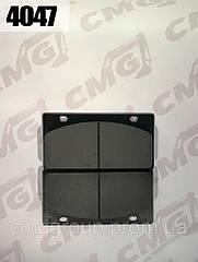 Колодка гальмівна 408107-108 / LG853.04.01.03.02 навантажувача ZL50G, ZL30G, XZ636, XZ656, CDM855, X