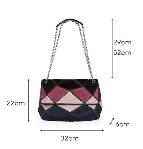 Кожаная женская сумка из натуральной кожи. Сумка клатч женская замшевая Nico Louise (черная) - фото 3
