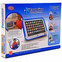 Детский обучающий планшет 7508 Play Smart, язык русский, цвет синий, фото 2