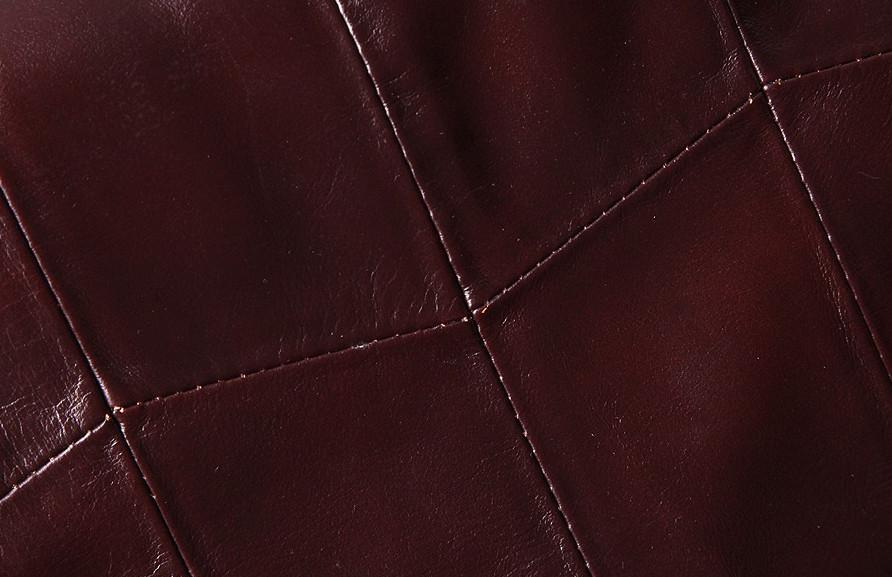 Кожаная женская сумка из натуральной кожи. Сумка женская органайзер кожаная деловая стильная (коричневая) - фото 10
