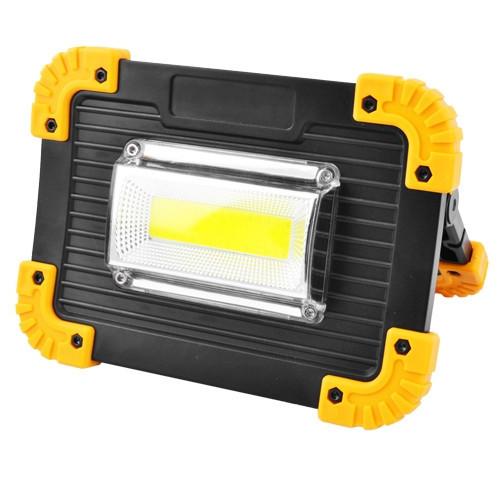 Прожектор светодиодный BTB L811-20W-COB-1W с Power Bank