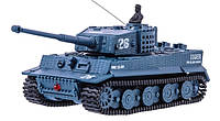 Танк микро р/у 1:72 Tiger со звуком ( хаки серый)