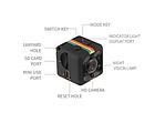 Мини камера SQ11 Mini DX Camera, фото 3