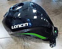 LX250GS-2A GP250 Бензобак, топливный бак Loncin - 170501161-0028 чёрный