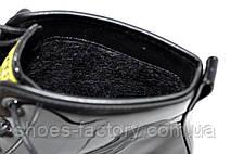 Лаковые осенние Ботинки в стиле Dr. Martens, Доктор Мартинс, фото 2