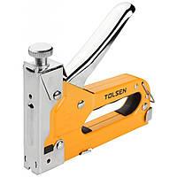 Степлер строительный Tolsen металлический 3-в-1 (43021)