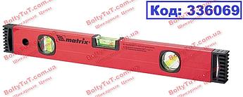Уровень алюминиевый, 600 мм, фрезерованный, 3 глазка MTX (336069)