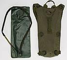 Рюкзак з питною системою B09, олива, фото 5