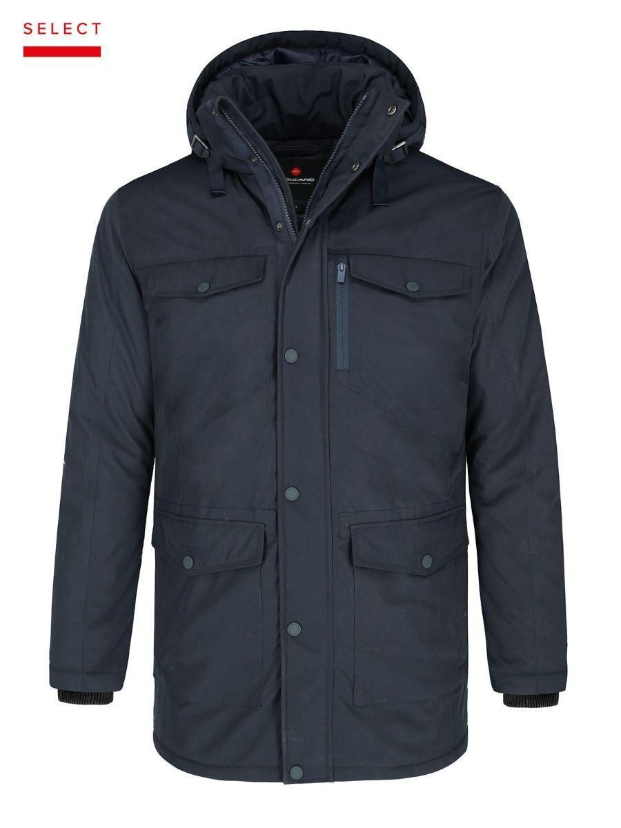 Зимняя мужская куртка парка Volcano J-Qulls M06187-600