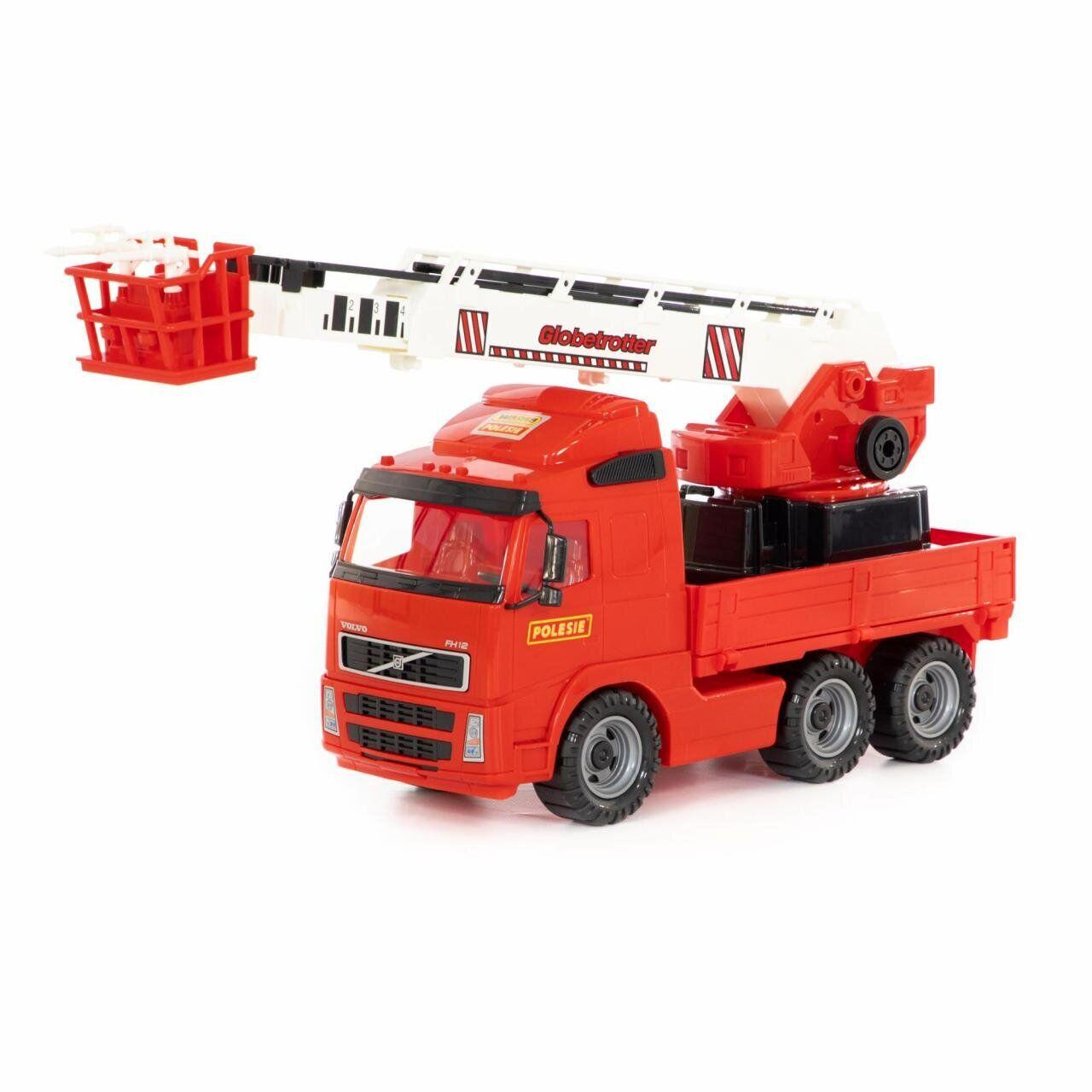 Volvo, автомобиль пожарный (в сеточке) Полесье 8787