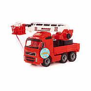 Volvo, автомобиль пожарный (в сеточке) Полесье 8787, фото 6