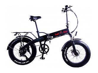 """Електровелосипед фэтбайк 20"""" Kelbbike E-1913WS-20 500W, 48V, чорний"""