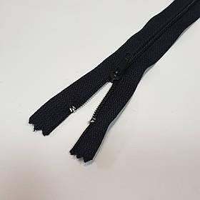 Молния потайная черная, длина 20 см