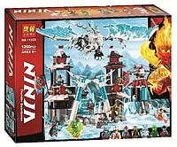Конструктор Bela (Lari) «Ninjago» (11333) Замок проклятого императора, 1260 деталей - Аналог Ниндзяго 70678