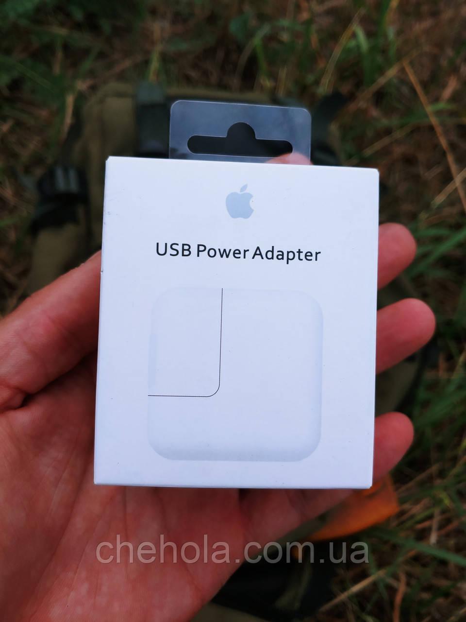Мережевий зарядний пристрій Apple iPhone 12W USB Power Adapter EU (MD836ZM/A)
