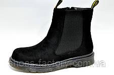 Осенние ботинки в стиле Dr. Martens, Доктор Мартинс женские, фото 2
