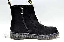 Осенние ботинки в стиле Dr. Martens, Доктор Мартинс женские, фото 3