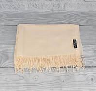 Кашемировый шарф, палантин кремовый Ozsoy 7180-28, фото 1