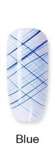 Гель-паутинка Spider Gel, 8 ml. № 006 - Blue синий