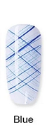 Гель-паутинка Spider Gel, 8 ml. № 006 - Blue синий, фото 1