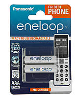 Акумулятор Panasonic Eneloop AAA 750 2BP mAh NI-MH Dect Series