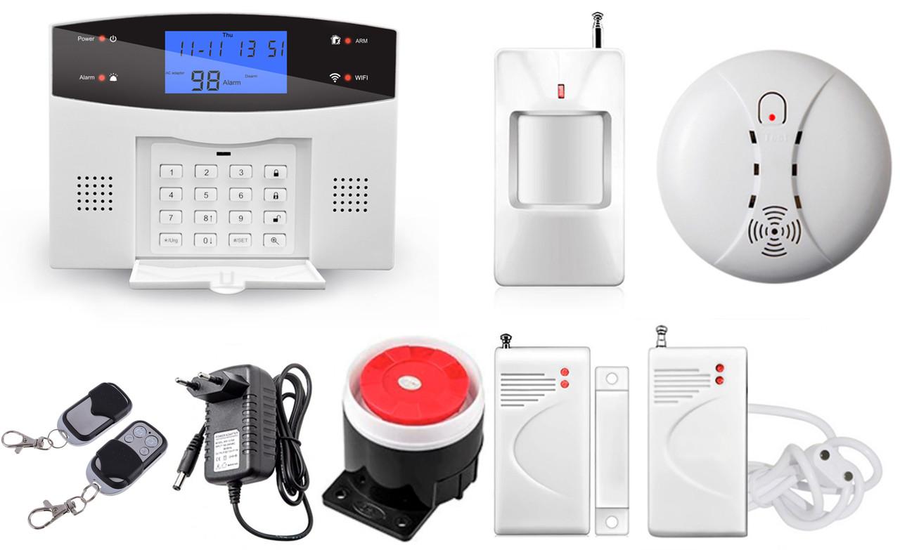 Комплект сигнализации Kerui alarm G505 Wi-fi Start Pro
