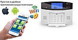 Комплект сигнализации Kerui alarm G505 Wi-fi Pro для 3-комнатной квартиры, фото 4