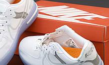 Жіночі кросівки Nike Air Force white. ТОП Репліка ААА класу., фото 3