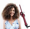 Плойка профессиональная африканские кудри Kemei KM-1023 9 мм,с плойка для волос, плойка конус, конусная плойка