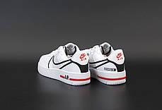 Женские кроссовки Nike Air Force white. ТОП Реплика ААА класса., фото 2