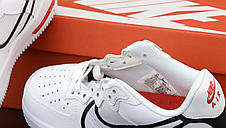 Женские кроссовки Nike Air Force white. ТОП Реплика ААА класса., фото 3