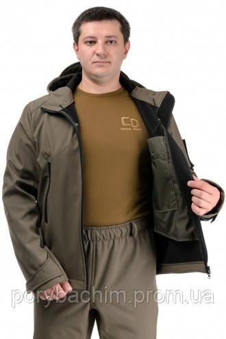 Демисезонный костюм ТМ Carpe Diem «SCOUT» oliva (куртка и штаны) 52 размер