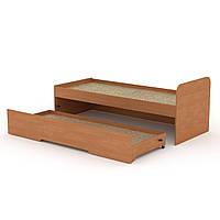 Кровать 80+70 односпальная с ящиком для игрушек и постельного 85х75х204 см (Компанит)