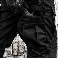 """Брюки тактические """"SHTORM"""" BLACK, фото 7"""