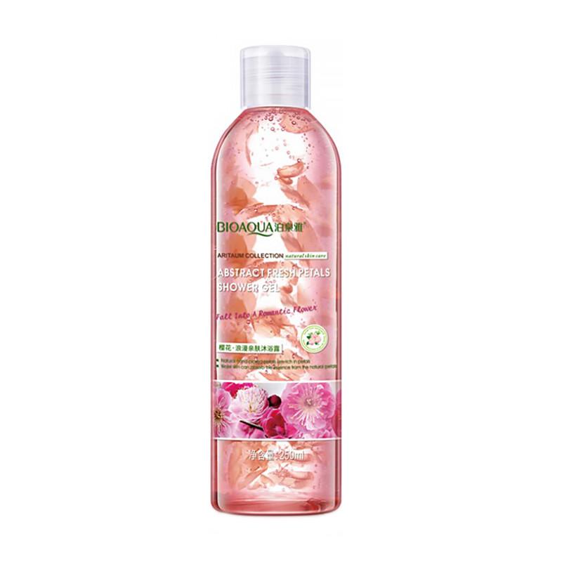 Гель для душа BIOAQUA Abstract Fresh Petals Shower Gel 250 мл Сакура