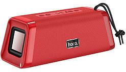 Портативная Bluetooth колонка HOCO BS35, красная
