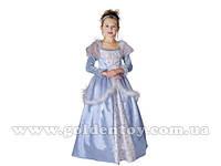 """Карнавальный костюм """"Принцесса"""" S/M/L (110-120см), платье/нижняя юбка/головной убор"""