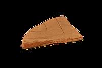 Подушка-лежак (поролон) для кошек и собак Мур-Мяу треугольная 40 х 40 см Коричневая