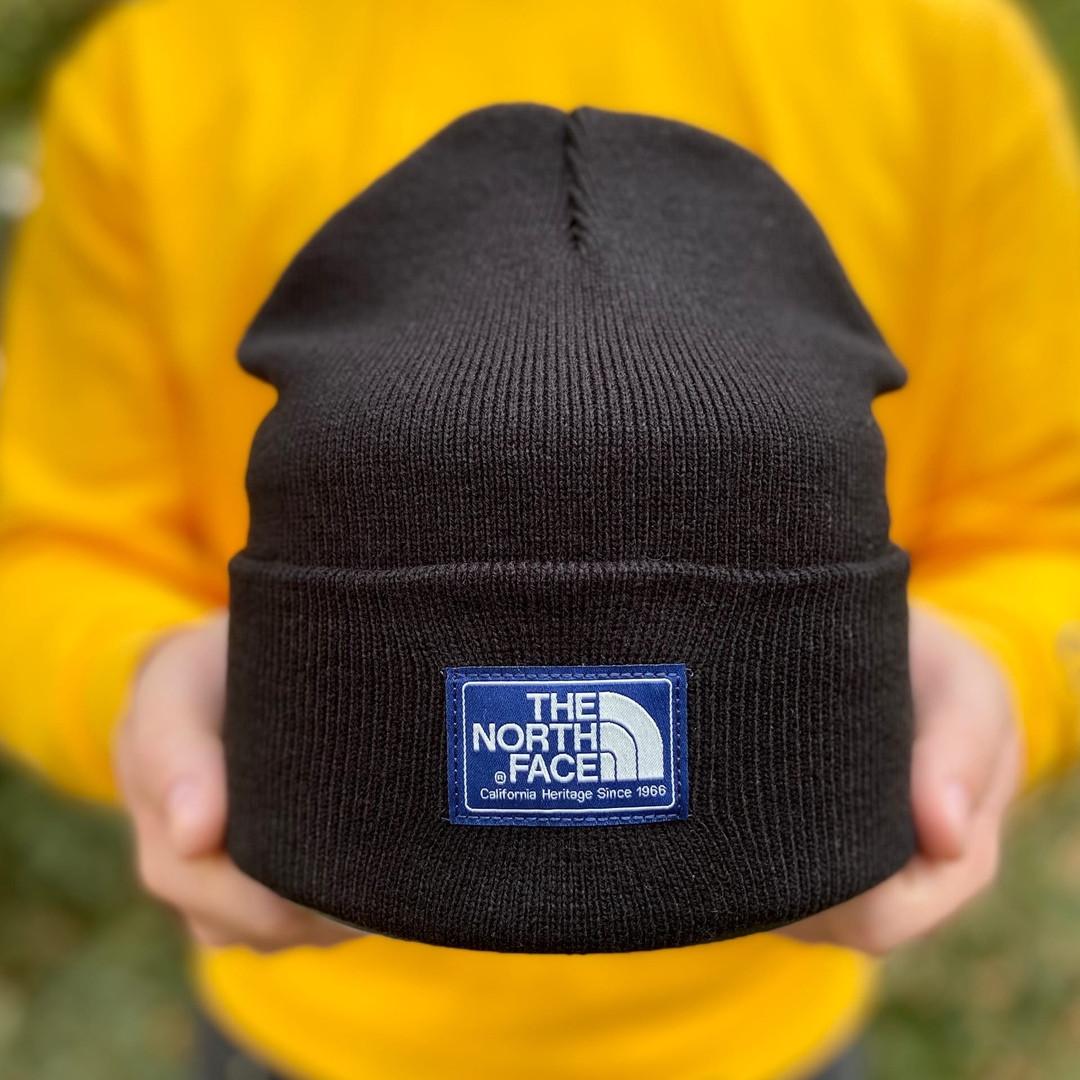 Шапка унисекс демисезонная The North Face.Стильная мужская / женская шапка.