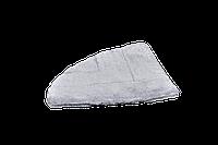 Подушка-лежак (поролон) для кошек и собак Мур-Мяу треугольная 40 х 40 см Серая