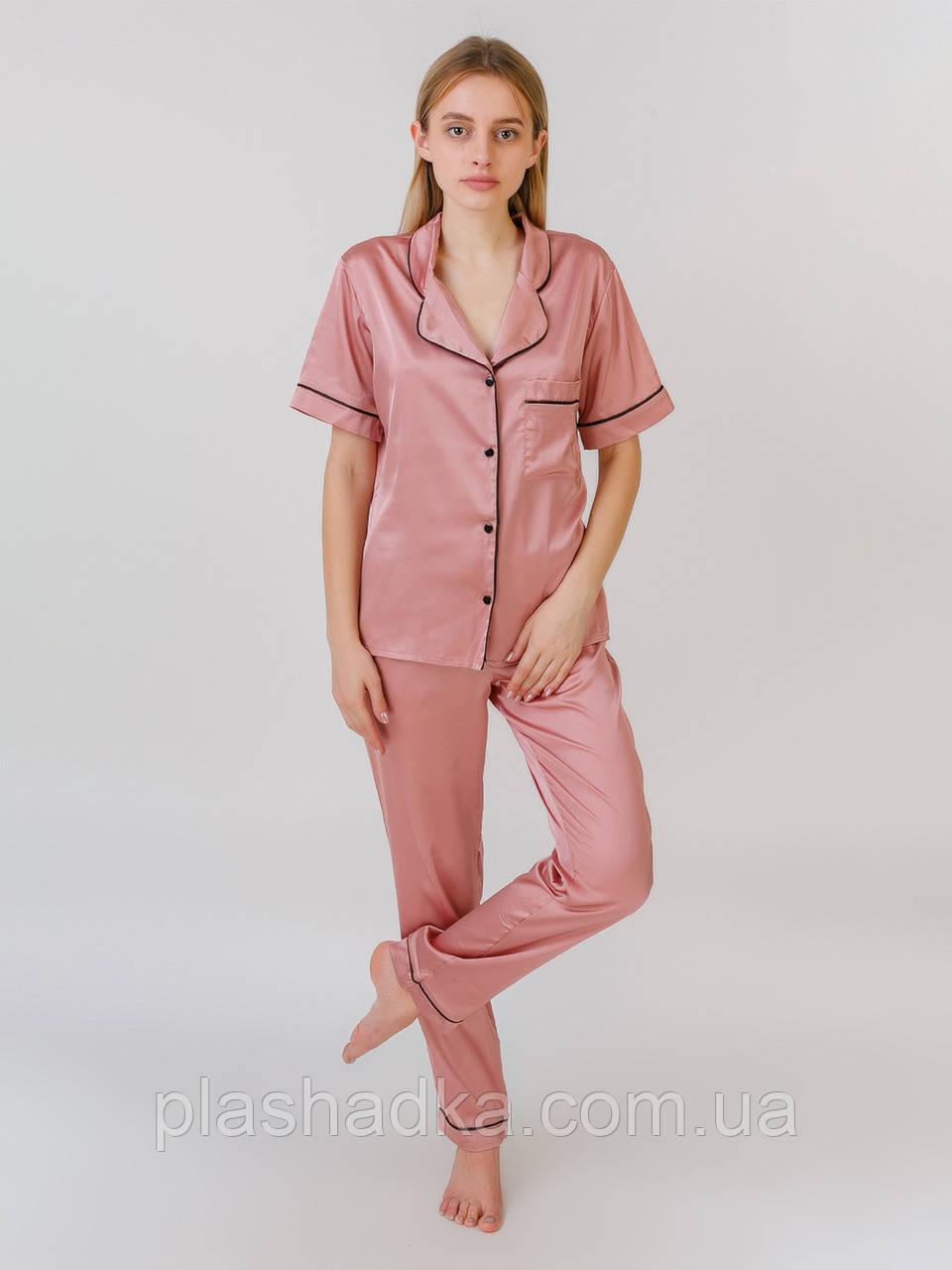 Serenade 1514 піжама шовк армані рожева Serenade (M)