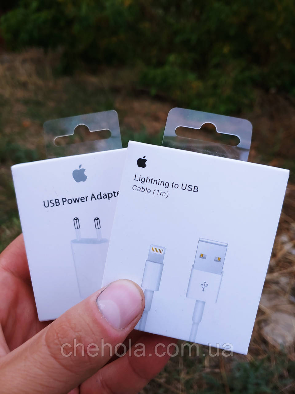Комплект Зарядний кабель для Iphone Ipad Lightning
